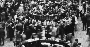 Нью-Йоркская фондовая биржа, 1960г.