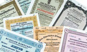 разнообразие ценных бумаг, торгующихся на фондовых рынках